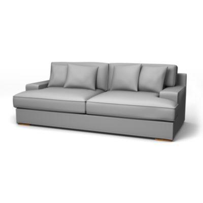 Göteborg 3 seater sofa Soft White Panama Cotton