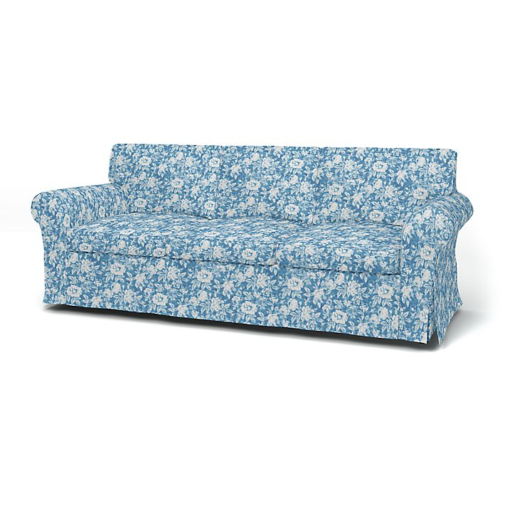 Ektorp 3 Seater Sofa Cover With Piping Bemz