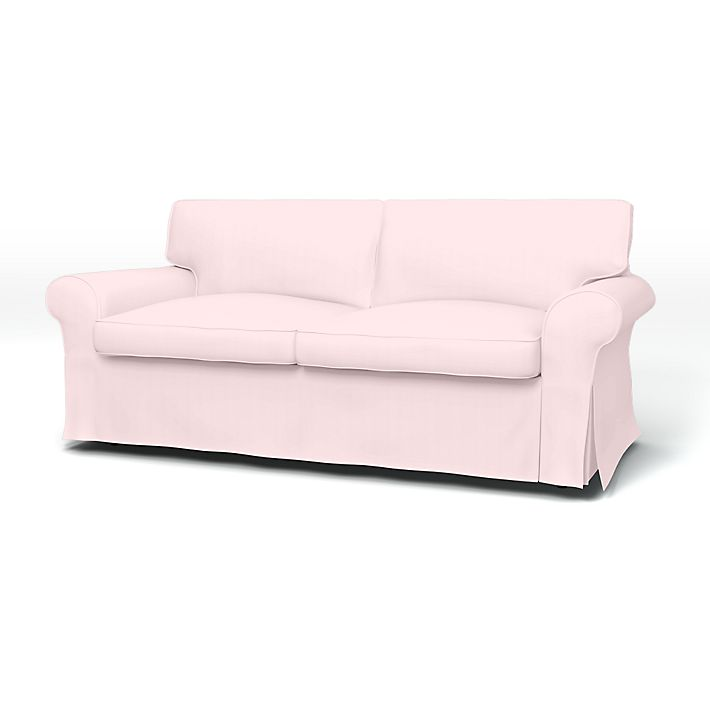 Ektorp 2 Seater Sofa Bed Cover With Piping Bemz