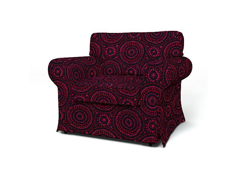 Sesselbezug in D2202 - Rosa