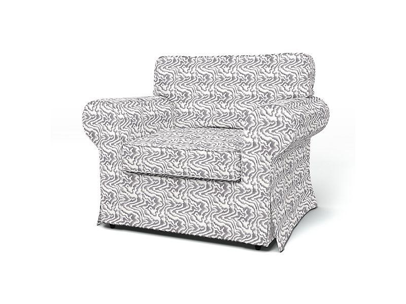 Sesselbezug in DD3501 - Grau