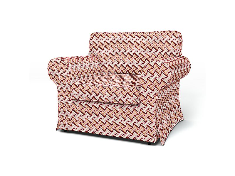 Sesselbezug in DD3603 - Rot