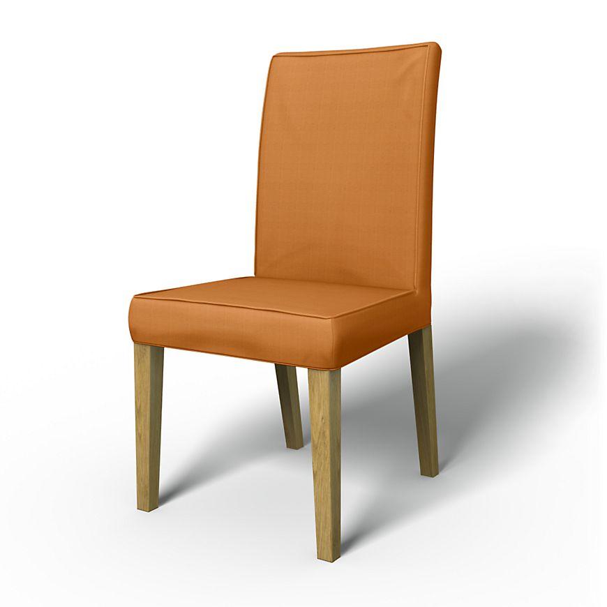 Henriksdal housses de chaise chaises regular fit avec for Housses de chaises en tissu