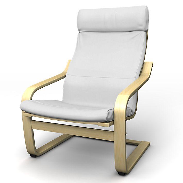 Po ng housse de fauteuil avec coussin de nuque ci joint - Housse poang ikea ...