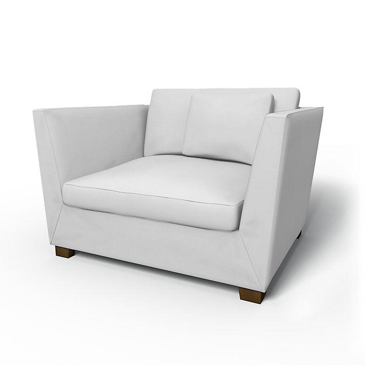 Stockholm housse de fauteuil 1 5 places bemz for Fauteuil 4 places