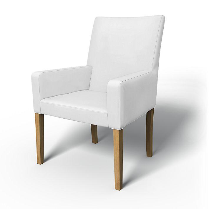 henriksdal chair cover w armrests short bemz