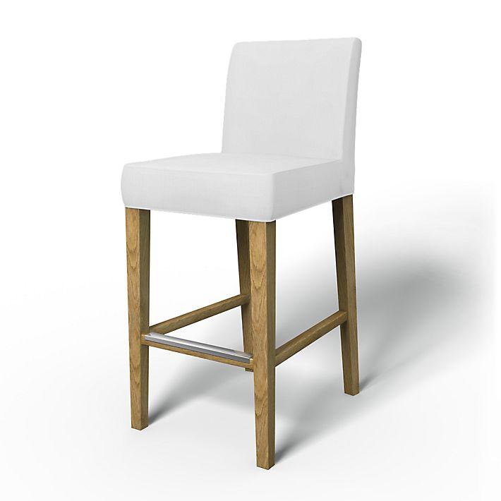 henriksdal barstool cover bemz. Black Bedroom Furniture Sets. Home Design Ideas
