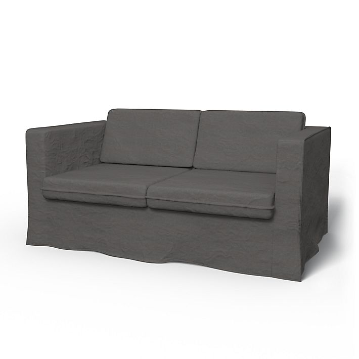 Karlanda Sofa Covers 2 Seater Loose Fit Urban Using The Fabric Chenille Velvet