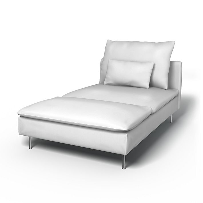 S derhamn chaise longue cover bemz for Chaise urban ikea