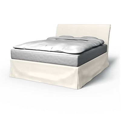 vanvik bed frame cover
