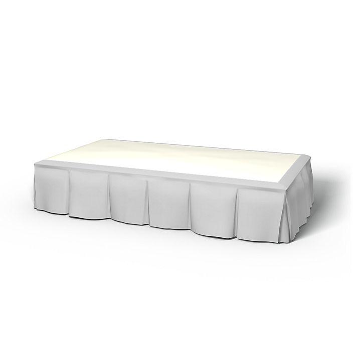 cache sommier plis sur les bords 120x200 hauteur 40cm bemz. Black Bedroom Furniture Sets. Home Design Ideas