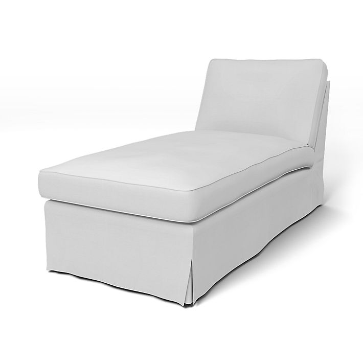 Ektorp Ektorp Cover With Piping For Chaise Longue Without Armrest Bemz