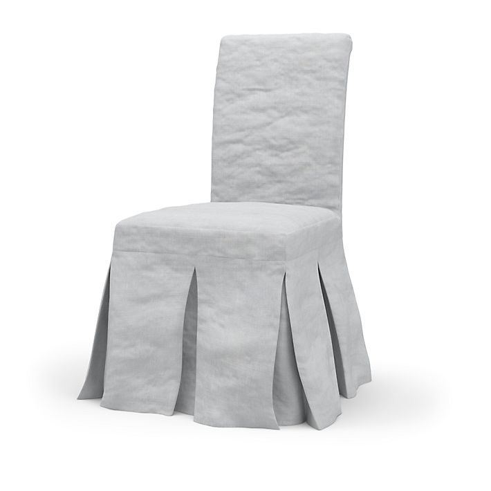 henriksdal chair cover long skirt with box pleat loose. Black Bedroom Furniture Sets. Home Design Ideas