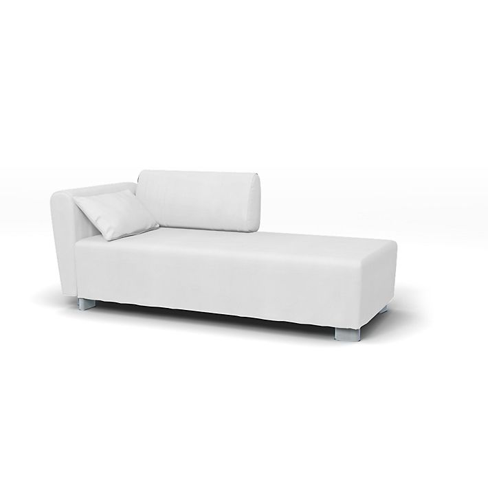 Mysinge sofa cover mysinge chaise longue cover left right for Chaise longue cover
